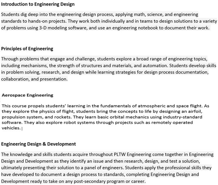 Aerospace Engineering Technology